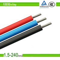 Comptitive & approval photovoltaic Solar cable 4.0mm2 TUV dc solar cable