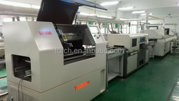 SMT Automatic1200mm led tube bulb panel assembly line machine solder paste screen printer SP400