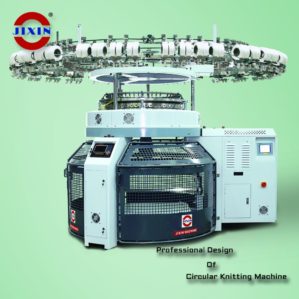 New Design Computerized Circular Jacquard Knitting Machine Single