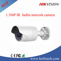 Hikvision 1.3MP ir mini bullet cctv ip camera DS-2CD2012F-I