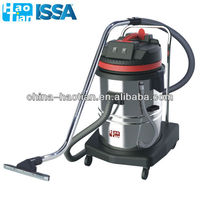 HT60-2 HaoTian 60L Two-motor stainless steel wet and dry vacuum cleaner