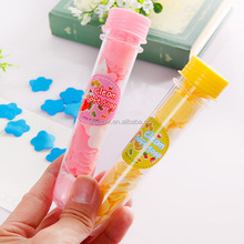 Beautiful colorful tube rose flower star shape soft bath paper soap