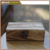 Retro wooden box jewelry grocery storage box
