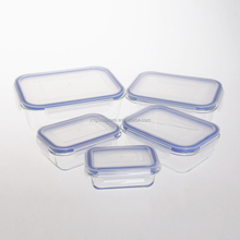 Family Series glass lunch boxes/container/crisper with flat lids