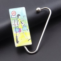 Hot Sell Fashion Zinc Alloy Metal Bag Hanger for Women /girl