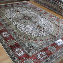 muslim prayer rug handmade silk persian design rugs 10x14 ft
