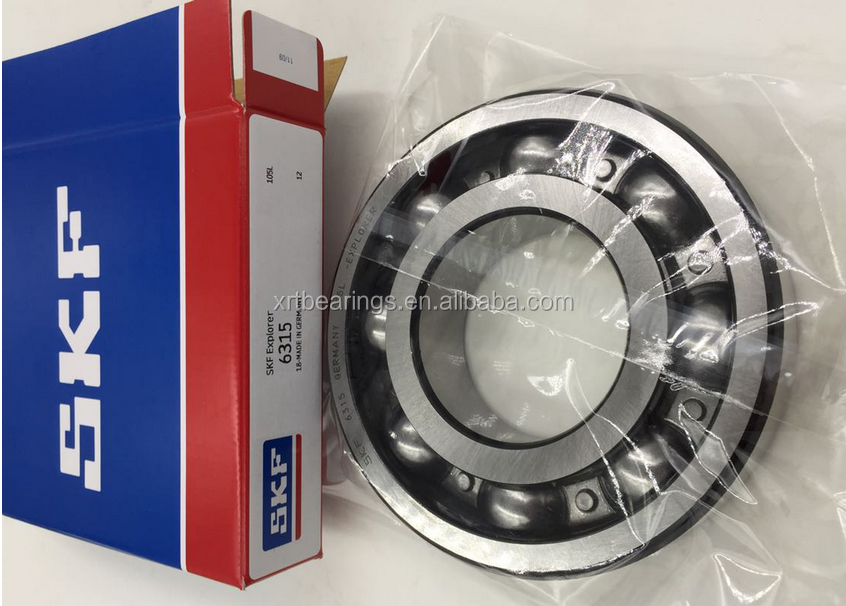 SKF deep groove ball bearing 6315 with good service and high precision skf bearing price list