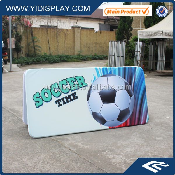 Advertising Dye Sublamtion Printing A Frame Pop Out Banner