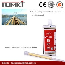 NJMKT-500 Thixotropic Epoxy Acrylate Based Two Part Anchoring Adhesive