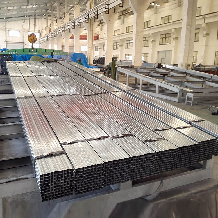 china factory wholesaler First Grade Bs En 10025 Galvanized Rectangular pipe For Fence Posts