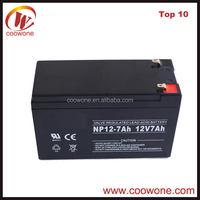China Coowone High Quality Cheap Battery 12v 7ah Price