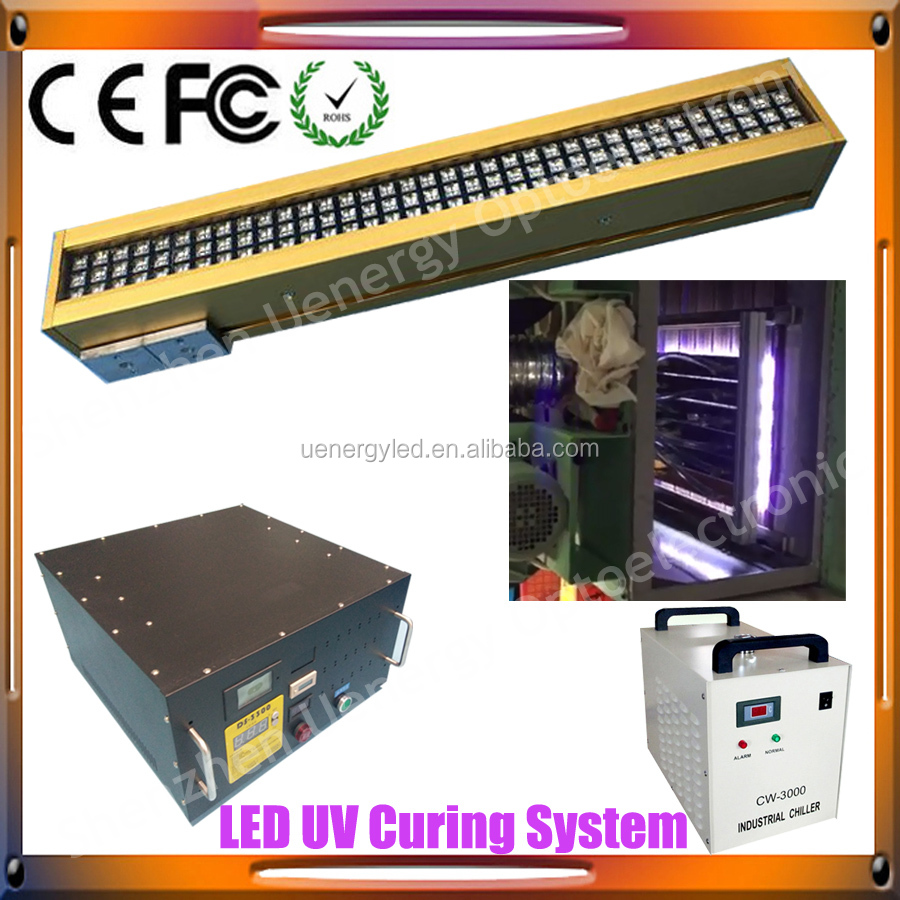 Professional uv led lamp manufacturer for printing machine high power uv led curing system