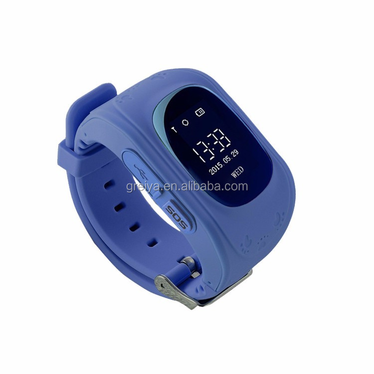 Hot GPS child watch with phone calling, kids cell phone watch with sos button, kids gps watch phone