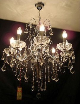 Candle Light Decorative Chandelier Crystal