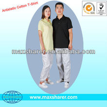 Antistatic ESD Cotton T-Shirt POLO Shirt C0107