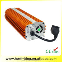 Fan Cooled 600W Electronic Ballast Compatible MH/HPS Bulbs