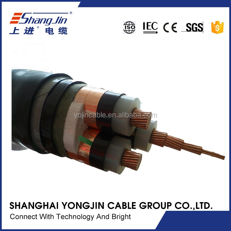 china factory price armoured 4 core 5 core armoured cable 120mm
