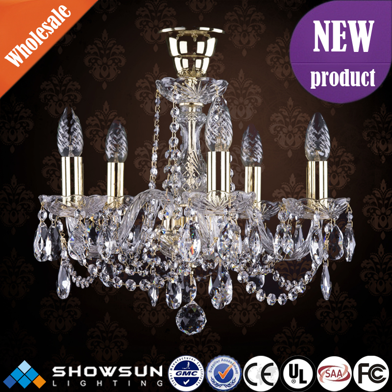 Western classical wedding crystal pendant wedding stage decoration