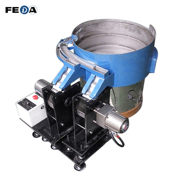 Vibration bowl vibrating feeder auto thread rolling machine with automatic feeder
