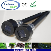2016 high quality Christmas decoration outdoor led solar garden light with 30cm 37cm 35cm solar stick lights JD-113A