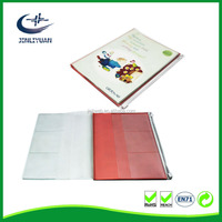 High Quality Cheap Plastic Book Cover can be print you image