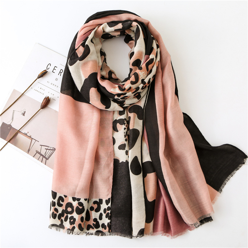 Luxury Brand <strong>Scarf</strong> Women 2019 Summer Leopard Print <strong>Scarf</strong> Shawl Pashmina New Dot Viscose Autumn Shawl hijab <strong>scarf</strong> For Women Modis