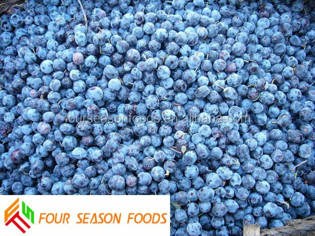 2016 New crop Iqf/blueberries frozen Frozen berry supplier