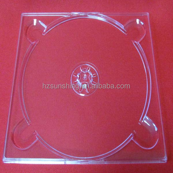 Factory wholesale Plastic dvd digi tray