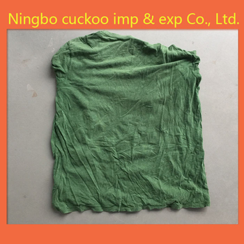 Industrial cleaning cloth, cloth, waste cloth, Coloured old T-shirt , rag