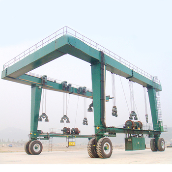 Top Crane Manufacture Nucleon Heavy Duty Boat Lifting Gantry Crane 40t