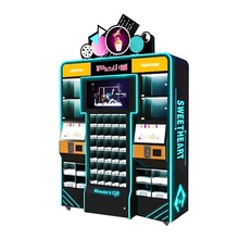 Factory Price Coin Operated Prize Vending Gift Lipstick Game Machine