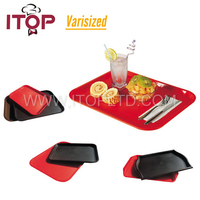 Plastic Fast Food Serving Trays/snack plate/Fast food tray