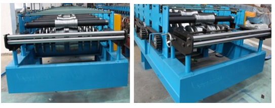 High Energy Efficiency Steel Deck Floor Roll Forming Machine