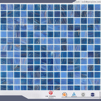 natural glass mosaic tile for swimming pool