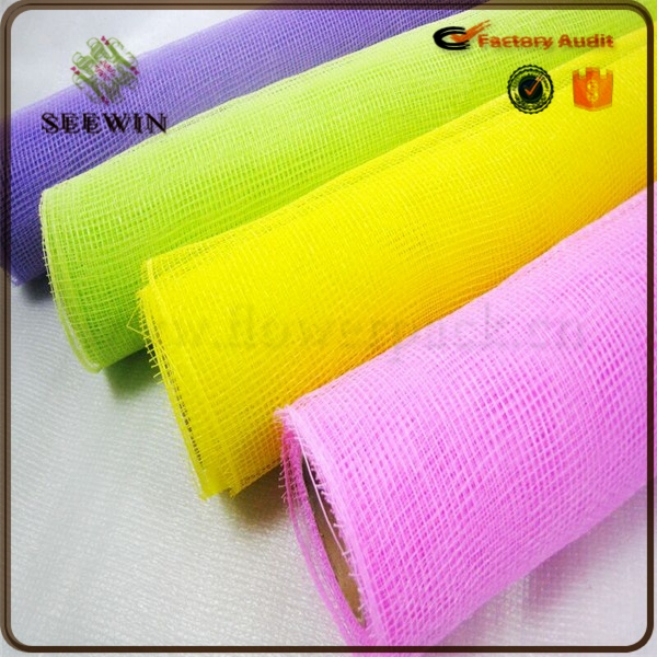 good-looking cheap Decorative flower wrapping mesh