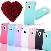 ULTRA THIN 0.4mm CUTE HEART LOVE CASE FOR APPLE iPHONE 5S 5 & iPHONE 4 4S COVER