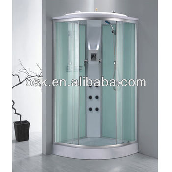 Cheap Plastic Shower Cabin With Control Panel OSK 8115, View ...
