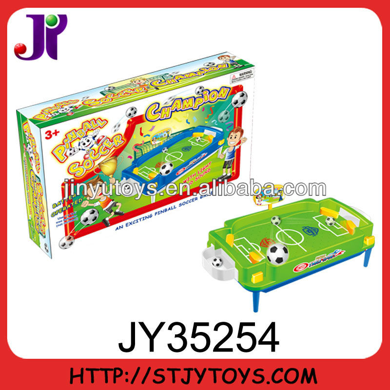 Game toy electronic desktop air football game