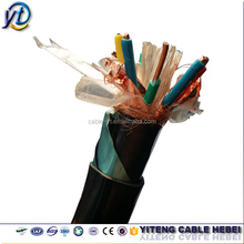 DJYPVP PE Insulated PVC sheathed Coper Wire Braid shield Computer Cables