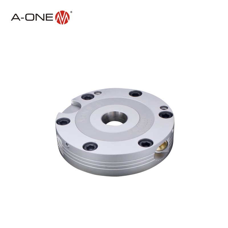 A-one new type Mini ultrathin Zero Point Lathe Chuck for 5 axis cnc machine