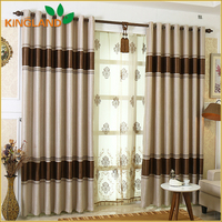 2016 New Style Cheap Curtains Jacquard Blackout Curtain For Hotel And Living Room