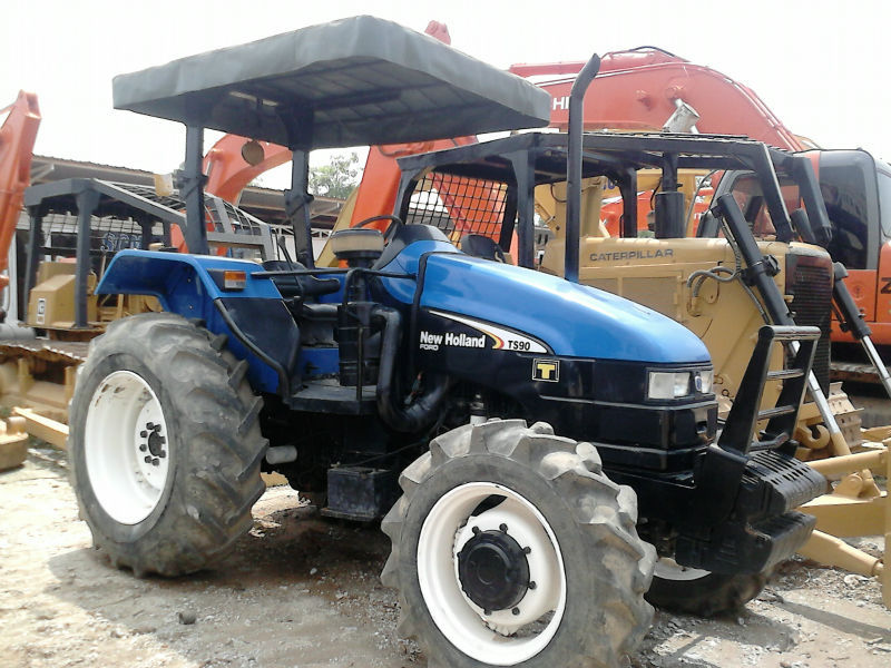 NEW HOLLAND TS90 ( 4WD ) Back Pusher