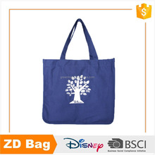 12oz cotton canvas tote bag with customized logo printing