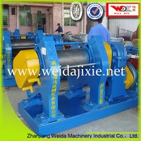NBR reclaimed rubber pressure thin machine for producing line, Guangdong Weida manufacturer directly selling