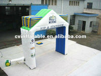 commercial advertising promotion inflatable VIP stateroom arched entry door