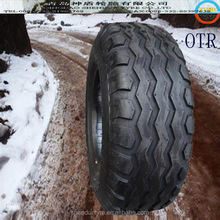 low and zero tire pressure continue driving OTR tire, snow and ice road ground driving