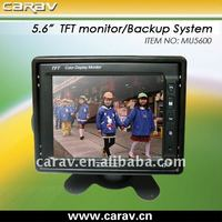 Hot selling 5.6 inch stand alone car rearview lcd monitor