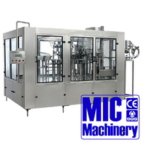 MIC Micmachinery well received 2000BPH spring water making machine and Plastic bottle water filling line for 500ml with CE