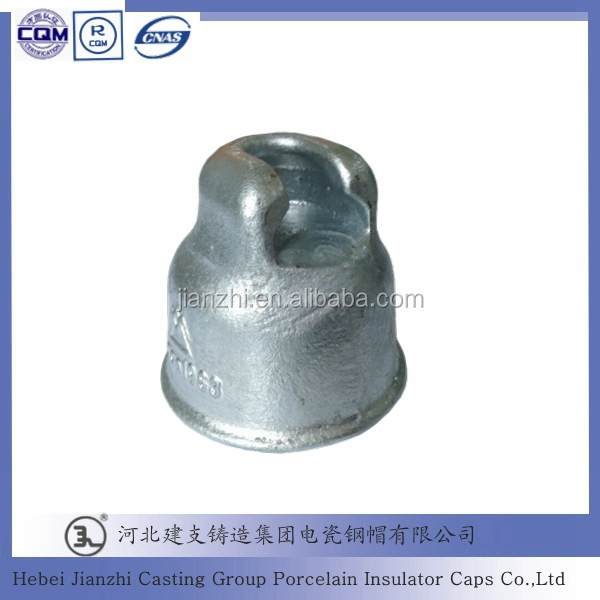 11kv 70KN anti pollution fog type disc insulator iron fittings