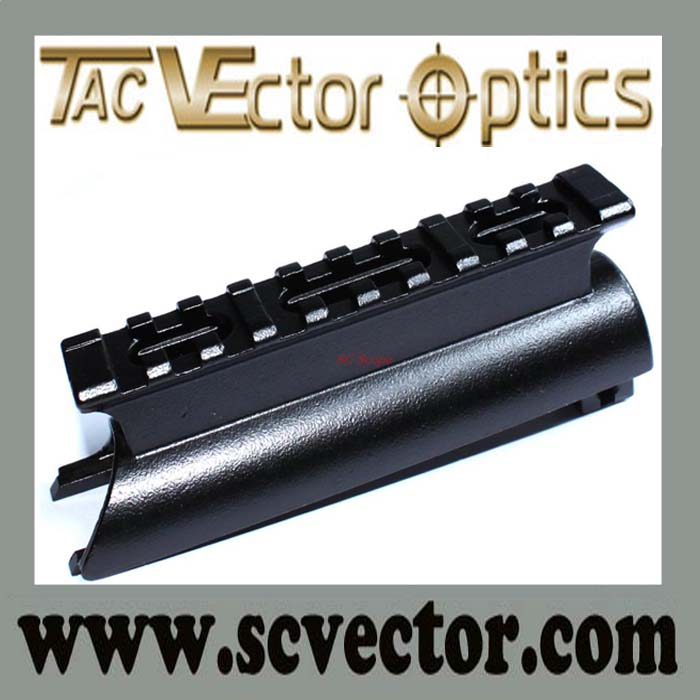Vector Optics Shock Proof Aluminum See Through Picatinny SKS Steel Picatinny Rail Mount In Precision